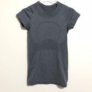 lululemon Gray Swiftly Tech Short Sleeve Size 4